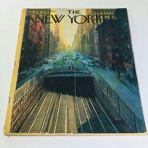The-New-Yorker-November-12-1960-Full-Magazine-Theme-Cover-Arthur-Getz