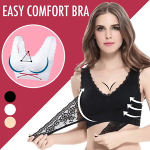 SEAMLESS LIFT BRA WITH FRONT CROSS SIDE BUCKLE CARA LIFT FROM S TO 4XL