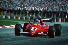Patrick Tambay Ferrari 126C3 Austrian Grand Prix 1983 Photograph 1