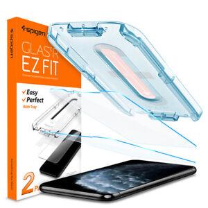 iPhone-11-Pro-X-XS-XS-Max-11-Pro-Max-XR-11-Glass-Screen-Protector-Spigen-2PK