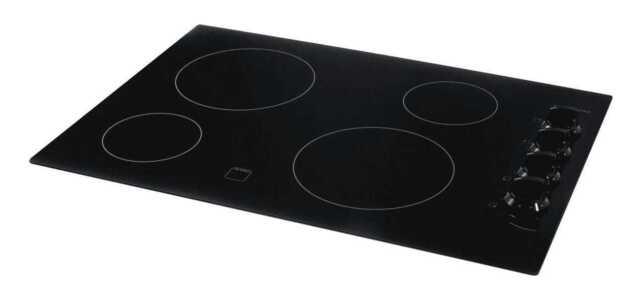 Frigidaire FFEC3624PB 36 Electric Cooktop in Black