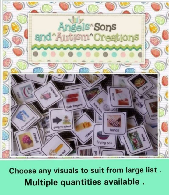 Scegli le proprie carte di visualizzazione per soddisfare ~ Autismo/NON VERBALE/Comunicazione/pettorali