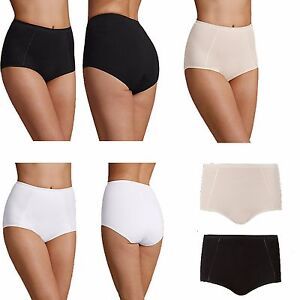 6356e6957ea1 Ladies Ex M&S 2 Pack Cotton Rich Body Shaping Firm Control Full ...