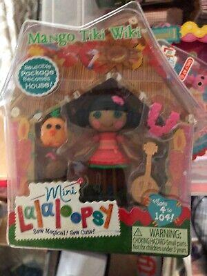 "Lalaloopsy Mango Tiki Wiki 3/"" Mini Doll with Accessories SERIES 9 VOL 5 SO CUTE"