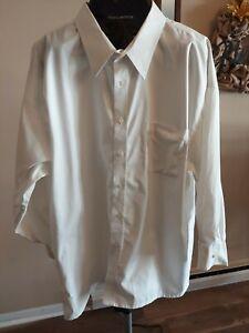 JOSEPH & FEISS Mens Non-Iron Long Sleeve Dress Shirt White  20 34/35