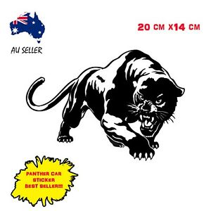 Car-Sticker-Panther-Decal-Black-Tiger-Lion-Turbo-Drift-Funny