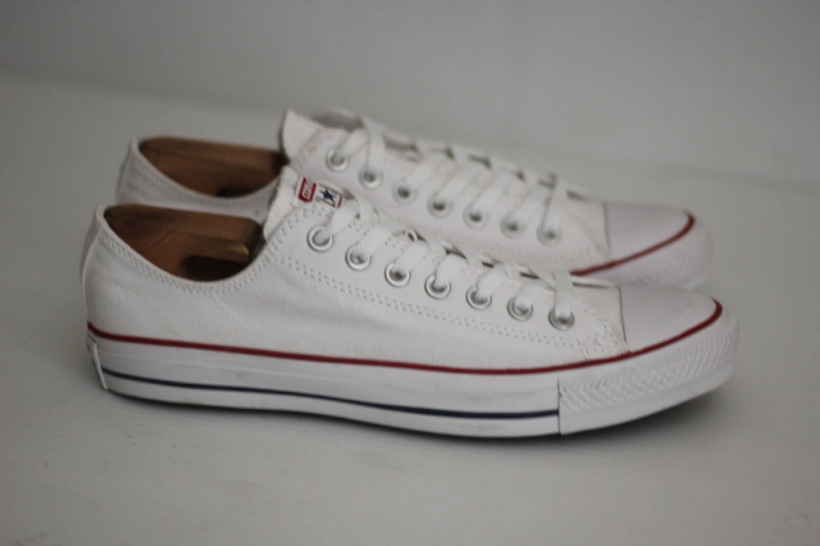 Converse chuck taylor all top - star - niedrige top all sneaker - WEISS - bequem 56ba97