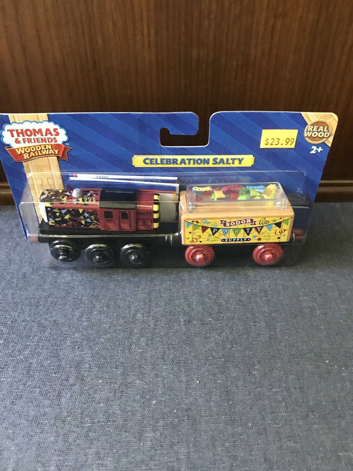 Thomas Wooden Railway Celebration Salty Retired And Rare New In Box