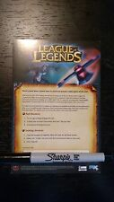 League of Legends :: Pax Sivir Skin Code Card
