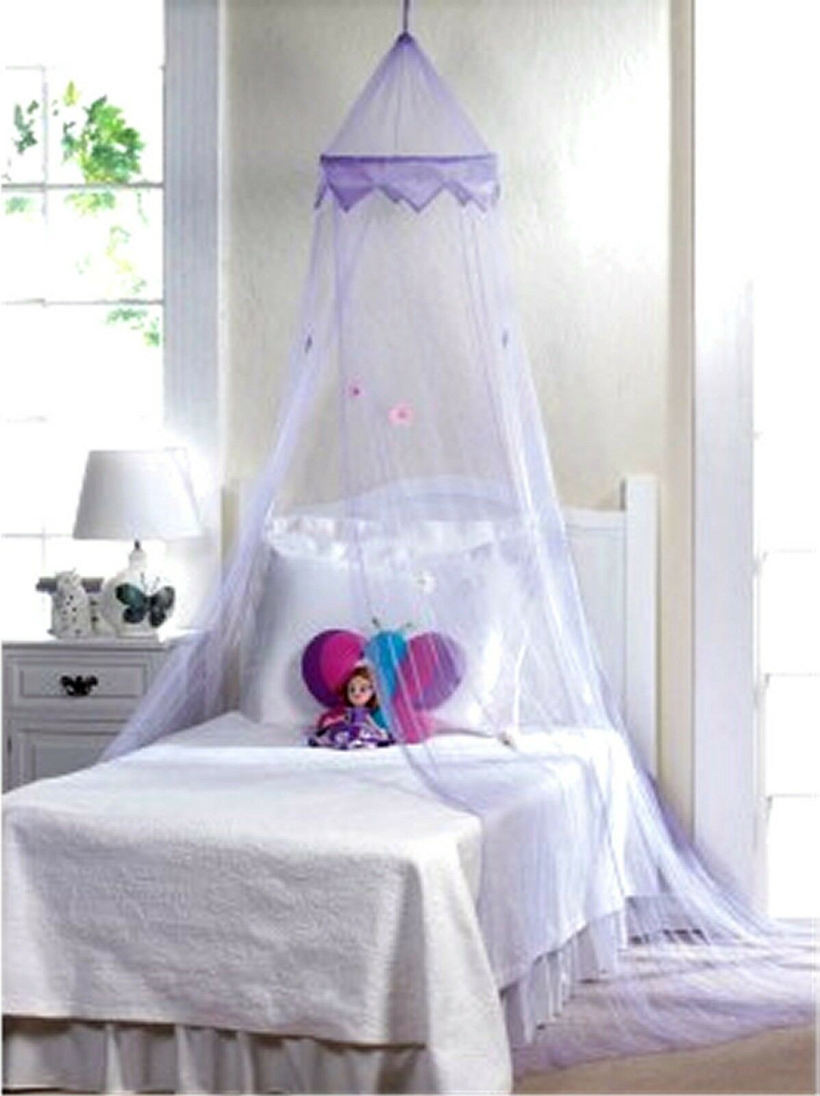 - Magical Purple Bed Canopy For Sale EBay