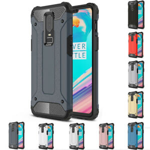 best sneakers 7bd03 04e85 Details about For Oneplus 6 6T Heavy Duty Shockproof Hybrid Armor Case  Rugged Bumper Cover