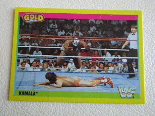 Merlin 1992 ~ W.W.F SummerSlam 92 Gold Series 2 cartes CARTE variantes e7