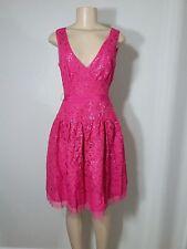 BCBG Max Azria Katarina Azalea Lace Sequin Dress Sz 4 S Small NWT $348