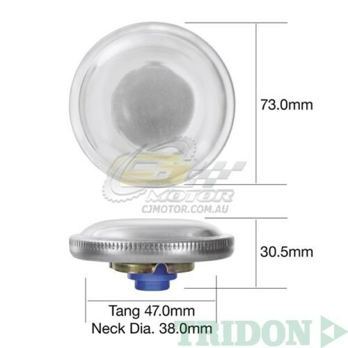TRIDON FUEL CAP NON LOCKING FOR MG MGB Mk I-III Incl GT 01//63-12//72 1.8L