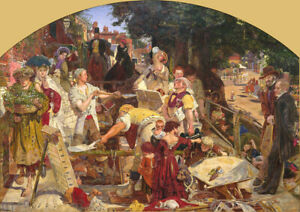 Ford-Madox-Brown-Work-Fine-Art-Print-Poster