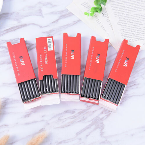 5.6mm Mechanical Lead Auto Clutch Pencil Holder Refill HB 2B 4B 6B 8B 6X//1BoxJ/&C