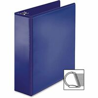 Business Source View Binder, D-ring, 3, Navy 28455 on sale