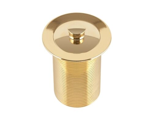 Kinetic BASIN WASTE WITH PLUG 40mm High-Quality Gold Plated Brass