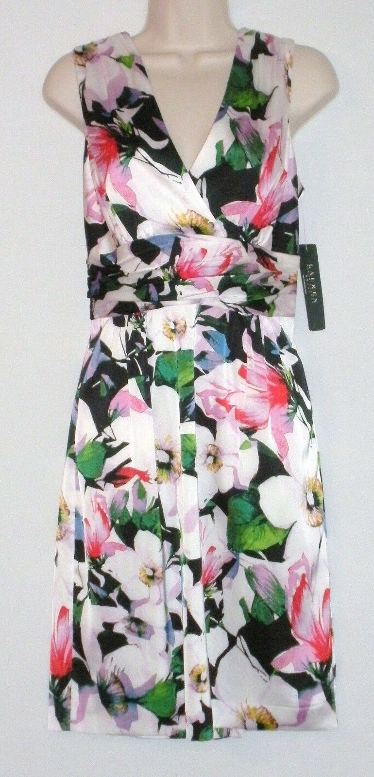 NEW with TAG  LAUREN RALPH LAUREN Floral Dress Größe 8 - MSRP