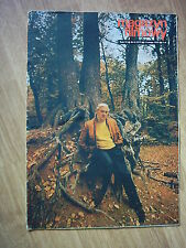JACQUES TATI on cover archive Magazyn Filmowy 6/72 Polish magazine