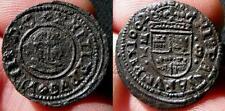 FELIPE IV. Año 1662. 8 Maravedíes. Cu. Madrid. Y - M horizontal entre puntos.