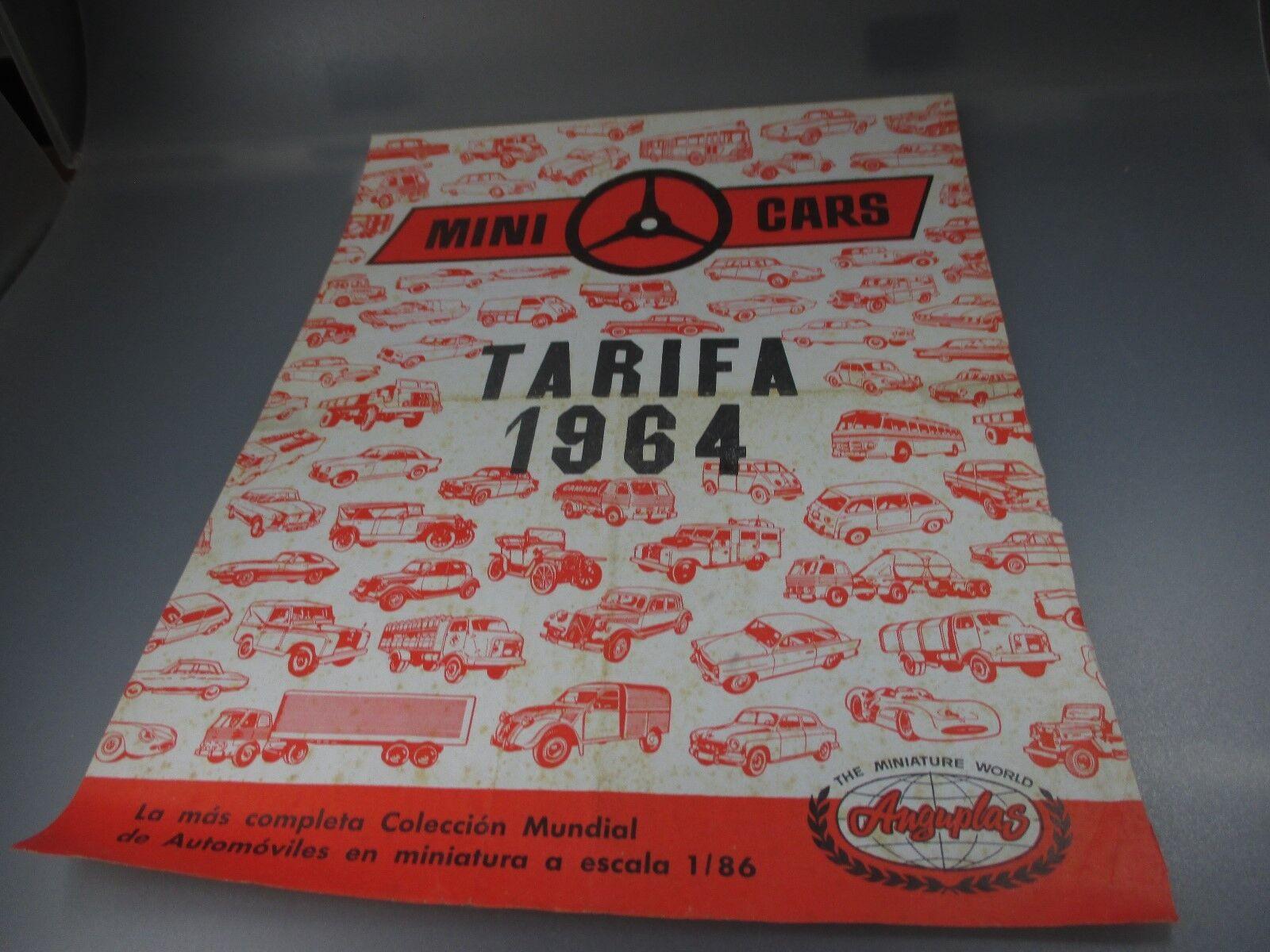 Descuento del 70% barato Anguplas MiniCoches  Gesamtprogramm Tarifa de Precios Precios Precios 1964 (GK76)  mejor calidad mejor precio