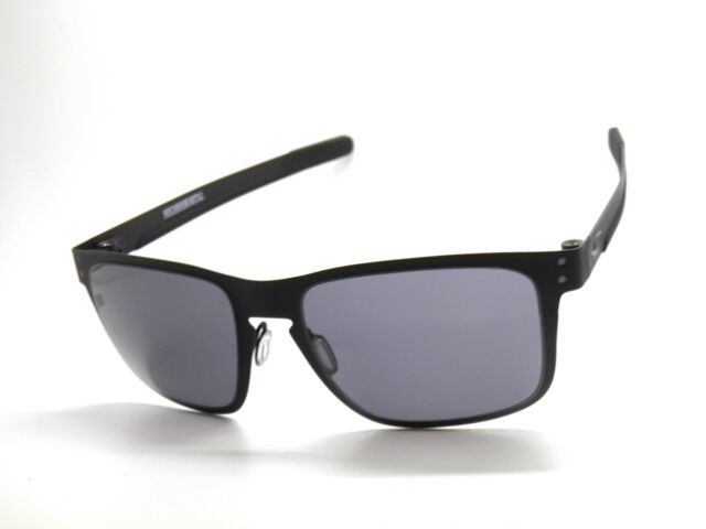 b5e93000666 Oakley Sunglasses Holbrook Metal 4123-01 Matte Black Grey for sale ...