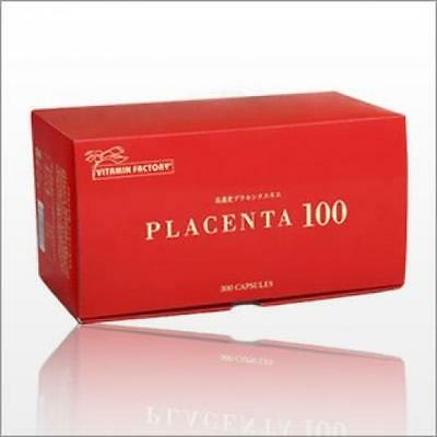 Placenta 100 Family size 300 Capsules Supplement From Japan