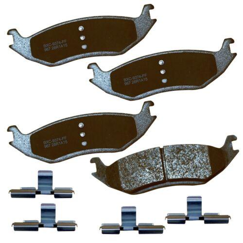 Disc Brake Pad Set-Stop Ceramic Brake Pad Rear Bendix SBC967