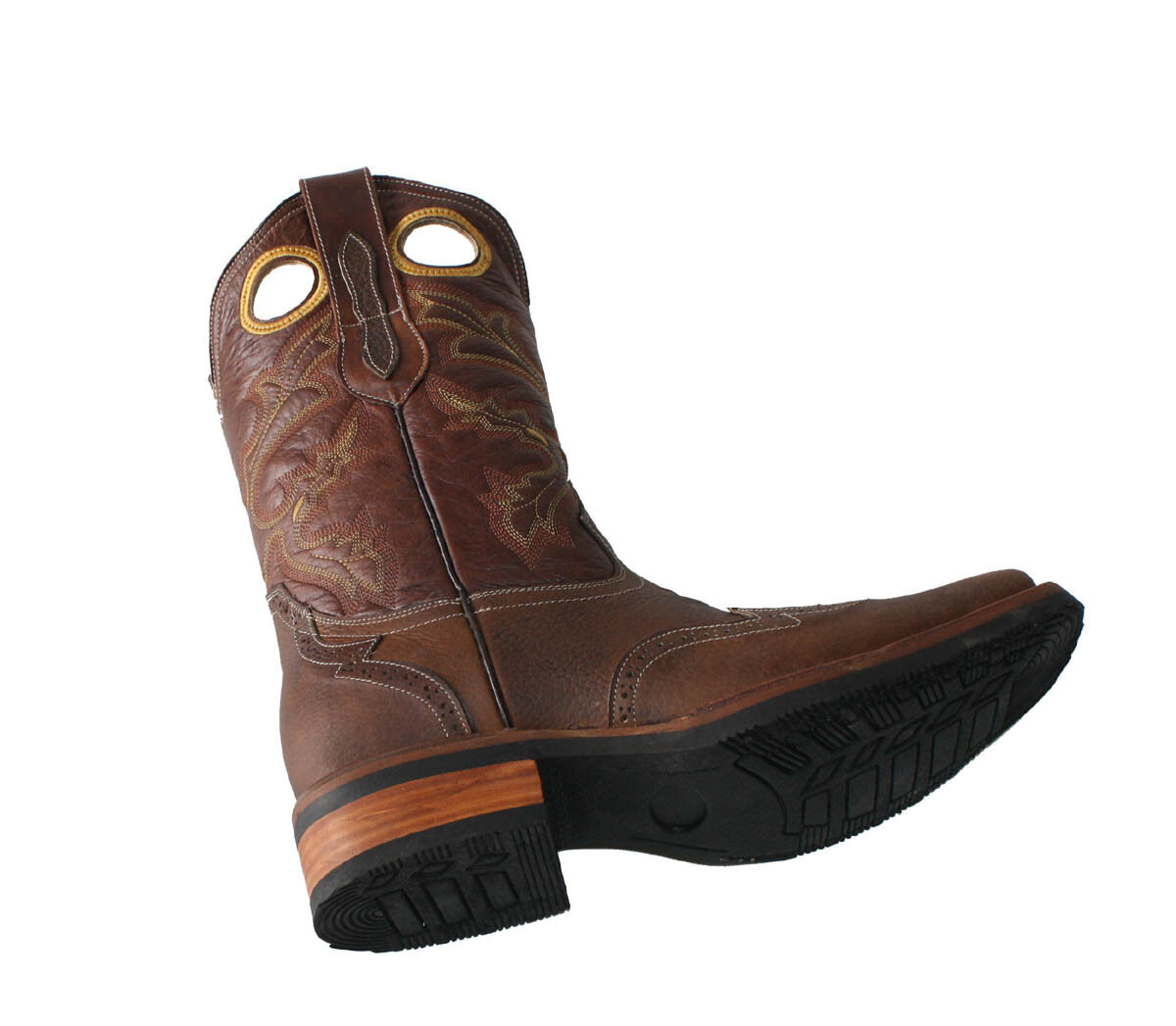 Men's Leather Cowboy Boots Animal Print  SPECIAL PRICE 89.99 Style