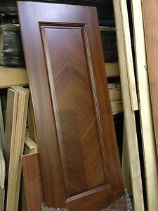 Walnut solid wood door slab w finish ebay for How to finish a wood slab