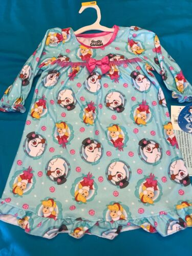 New soft Frosty the Snowman and Karen girls Nightgown Pajamas  12mo 18 mo
