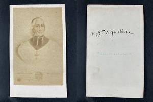 Gueuvin, Hyacinthe-Louis de Quélen, archevêque Vintage cdv albumen print.Monse