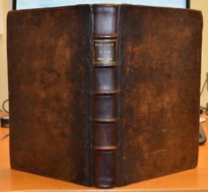 1674-Folio-John-Owen-039-Exercitations-On-Hebrews-Vol-2-039-Puritan-FINE-BINDING