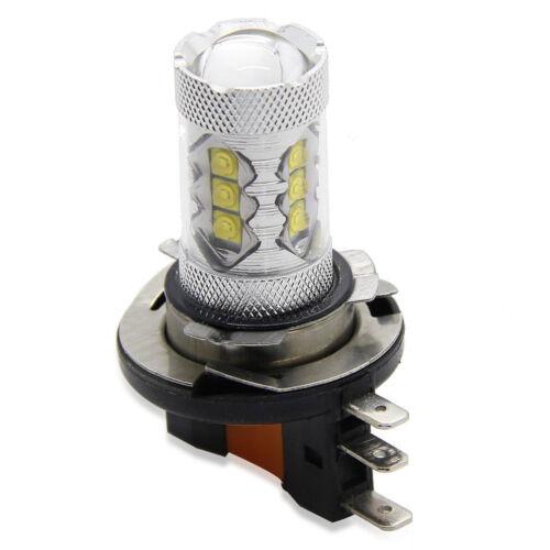 2X 6000K Super White 80W H15 Daytime Lights LED Bulbs For Audi BMW Mercedes VW