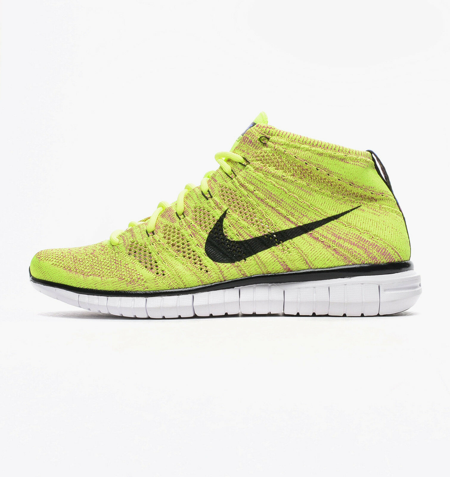 639700-700 Nike Men's Free Flyknit Chukka Volt-black Great discount