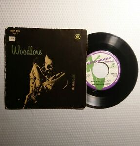 PHIL-WOODS-034-Woodlore-Vol-3-034-1956-Metronome-RARE-Swedish-press-45rpm-JAZZ