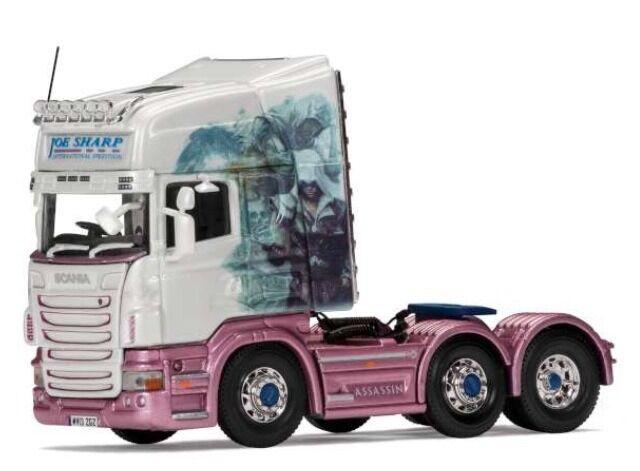Corgi Cc13772 Transportistas o Reconocido Scania R Topline Joe Dar Forma