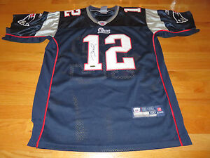 premium selection 706d5 261cf Details about Reebok TOM BRADY signed