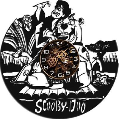 Scooby Doo Vinyl Record Wall Clock Home Fan Art Decor 12/'/' 30 cm 7234