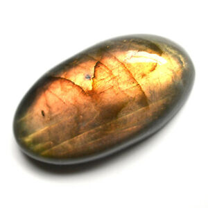 Cts-62-15-Natural-Labradorite-Sunrise-Fire-Cabochon-Oval-Cab-Loose-Gemstone