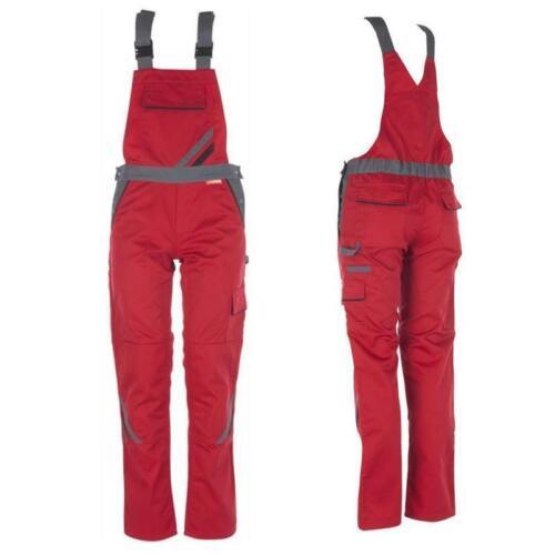 PLANAM Damenlatzhose Highline rot Arbeitslatzhose Arbeitshose für Damen OVP
