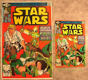 Star-Wars-38-Original-Print-Both-Signed-Michael-Golden-in-SILVER-Amazing