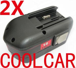 2-Battery-For-MILWAUKEE-AEG-18V-A-3-0Ah-Ni-Mh-8940158631-PES-18-T-B18-0523-20-OZ