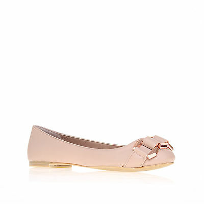 LARISSA CARVELA KURT GEIGER SYNTHETIC NUDE WOMENS LADIES SHOE