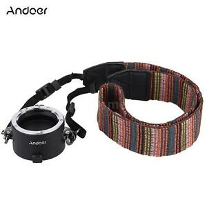 Andoer Fast Len Changing Equipment Dual Lens Holderwith Strap for Nikon F-Mount