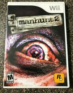 Manhunt-2-Nintendo-Wii-2007-Complete-w-Manual-Tested-Working-Free-Ship