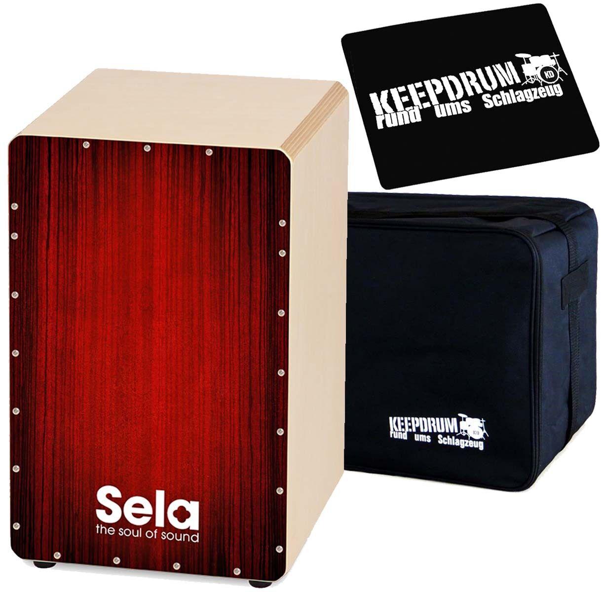 Sela SE050 Varios rot Cajon Keepdrum Bag Seat Pad