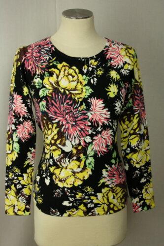 Damen Pullover Pulli Oberteil Blumen Perlen Viskose von Imagini Gr.42,46, LUXUS