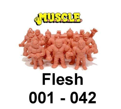 ~ Loads to Choose from ~ Flesh 001-042 Vintage 1985 Mattel Toys ~ M.U.S.C.L.E
